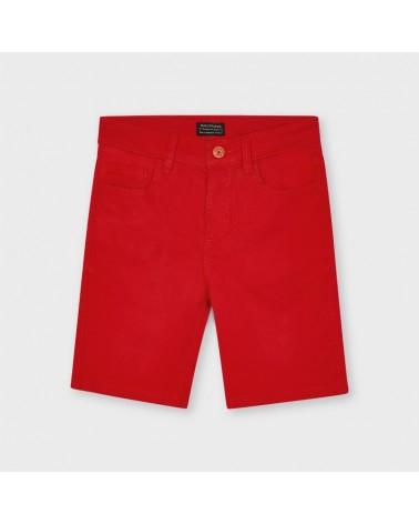 Bermuda rosso da ragazzo...
