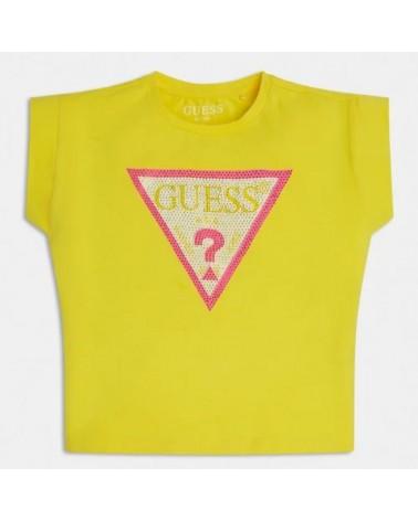 Maglietta da ragazza giallo...