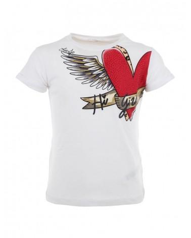 T-Shirt  stampa cuore LiuJo...