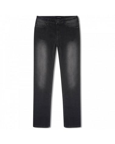jeans nero da ragazzo slim...