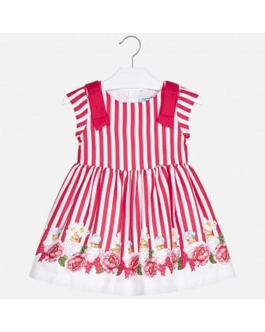 Vestito da bambina a righe...