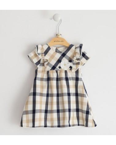 abito da neonata check blu...