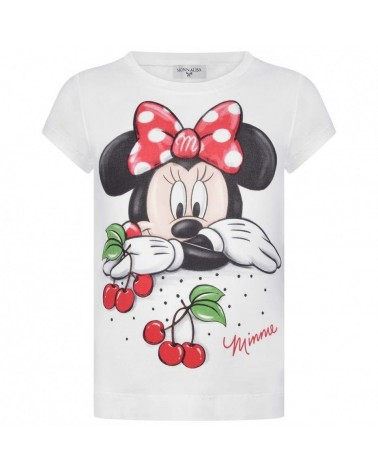 maglietta da bambina bianca...