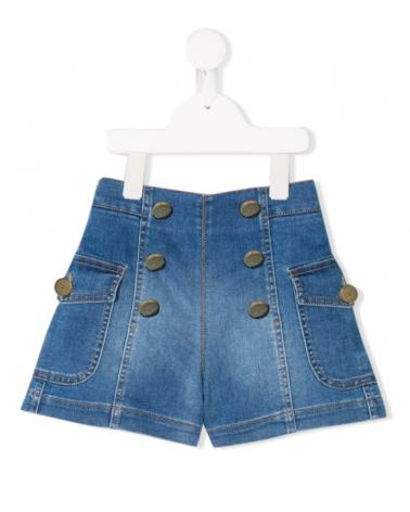 short jeans da ragazza vita...