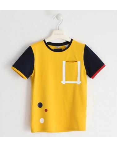 maglietta da ragazzo giallo...