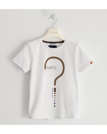 maglietta da ragazzo bianco...