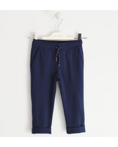pantalone da bambino blu in...