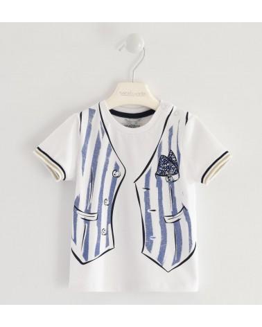 maglietta da bambino bianco...