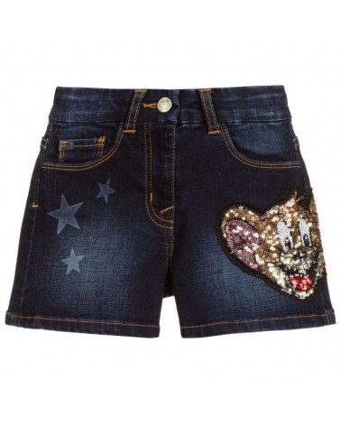 pantaloncino jeans da...