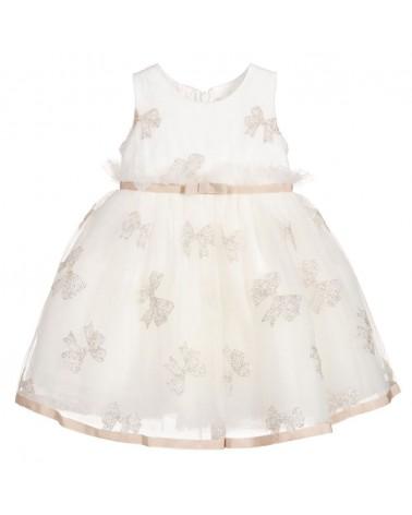 vestito da bambina panna...