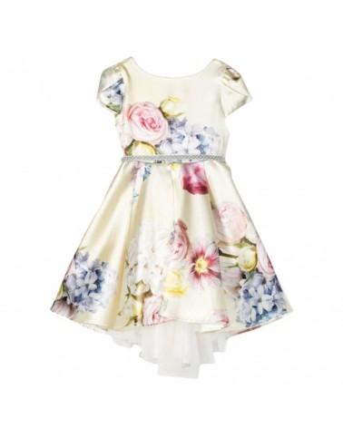 vestito da bambina in raso...