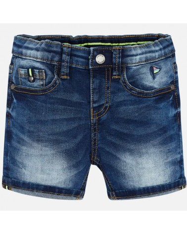 Bermuda di jeans scuro da...