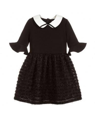 vestito da bambina nero con...
