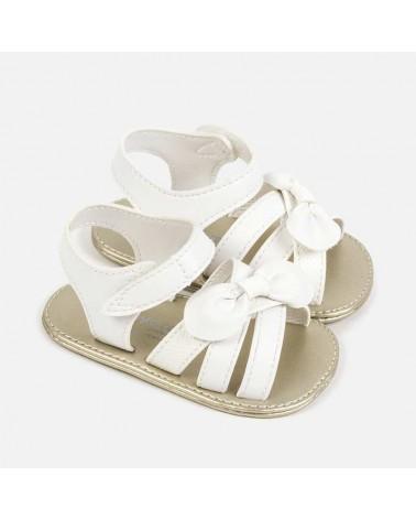 Sandali eleganti bianco con...