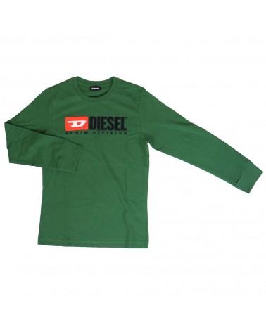 maglietta da ragazzo verde...