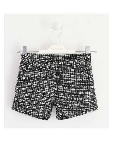 Shorts per ragazza nero...