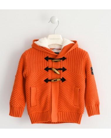 Maglione arancione con...