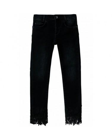 jeans da ragazzo nero con...