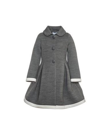 cappotto da bambina grigio...