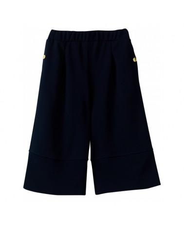 pantalone cropped blu da...