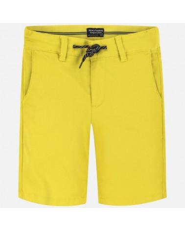 Bermuda di chino giallo...