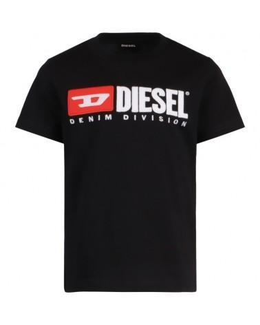 T-shirt da ragazzo nero con...