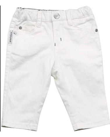 pantalone in cotone bianco...