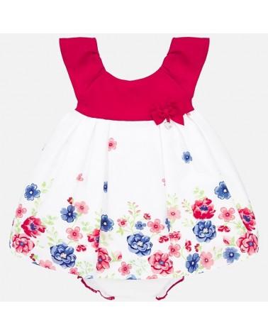 Vestito da neonata rosso...