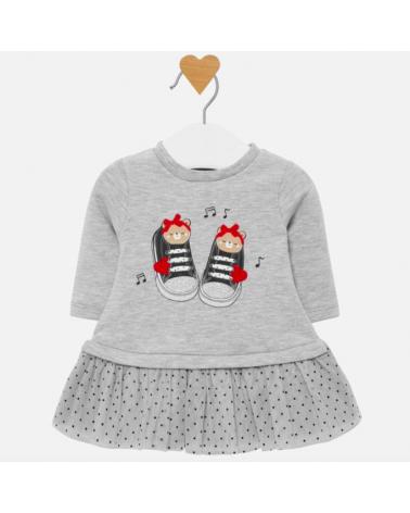 vestito da neonata in felpa...