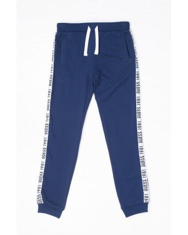 pantalone in felpa blu da...