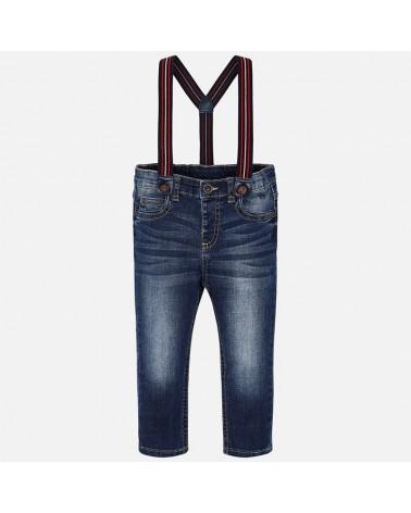 Jeans da bambino scuro con...