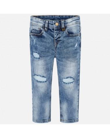 Jeans da bambino chiaro con...