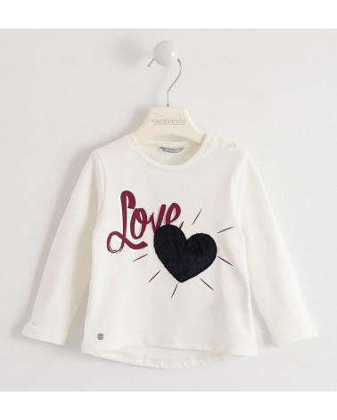 maglietta panna da bambina...