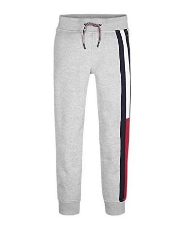 pantalone in felpa grigio...