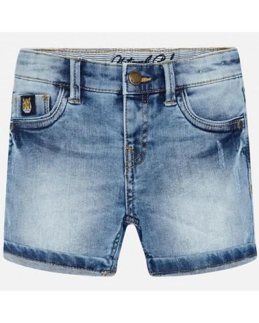 Bermuda di jeans chiaro da...