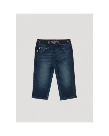 Jeans bambino stretch con...