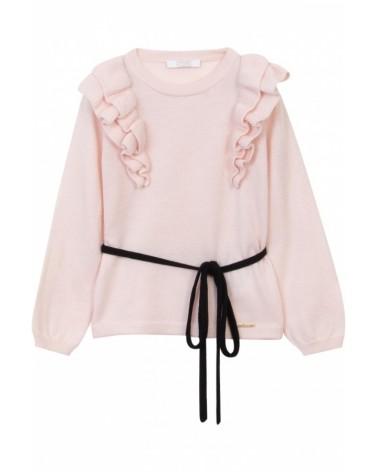 maglioncino da bambina rosa...