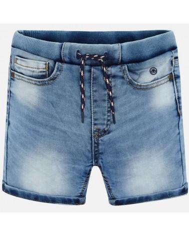 Bermuda jogger di jeans...