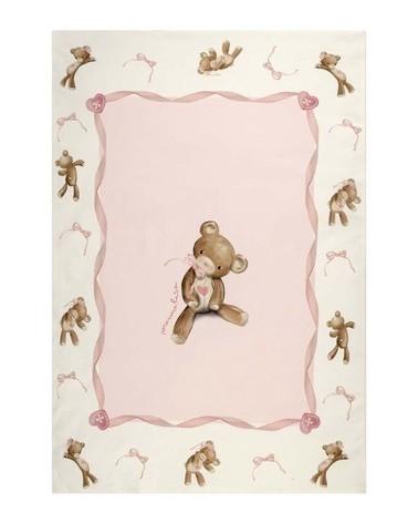 coperta da crrozzina rosa...