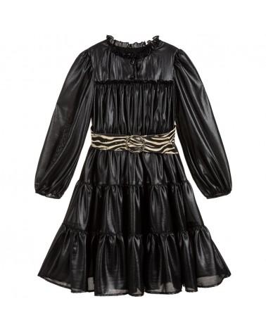 vestito da ragazza nero con...