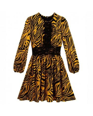 vestito da ragazza zebrato...