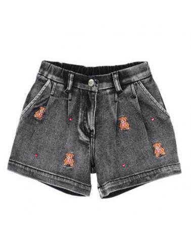 pantaloncino short in jeans...