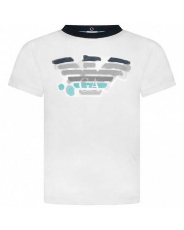 t-shirt da bambino bianca...