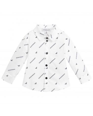 camicia da bambino bianco...