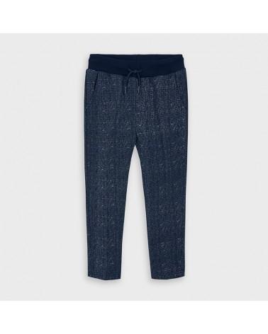 Pantalone felpa blu...