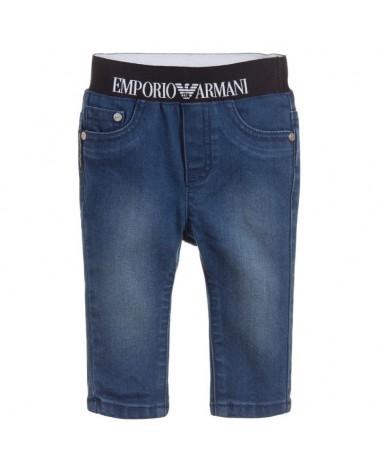 jeans da bambino con vita...