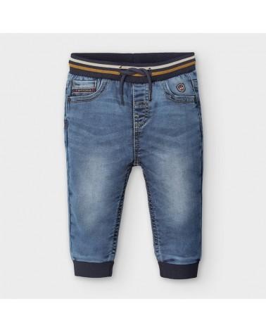 Jeans modello jogger chiaro...