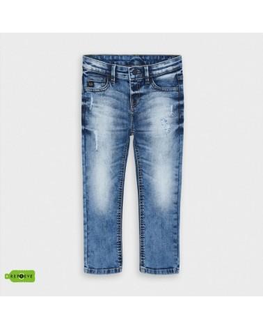 Jeans effetto strappato...