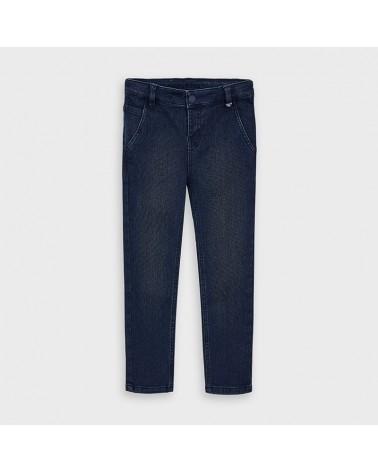 Pantalone lungo jeans piquè...