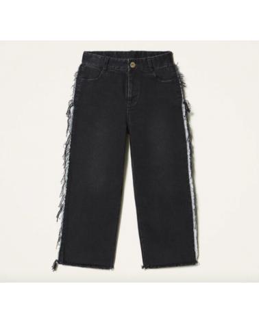 jeans goucho nero da...